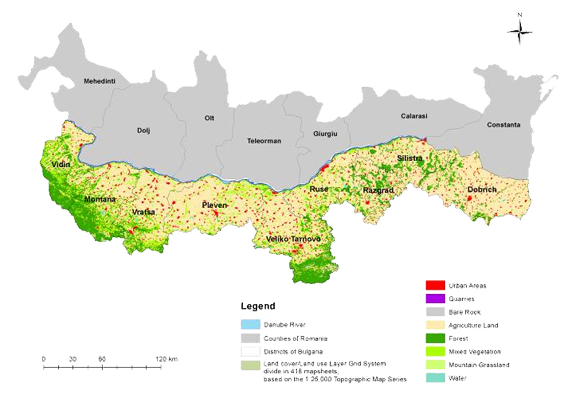 Bulgarian Spatial Data Infrastructure (BSDI)Services in support to Danube Strategy