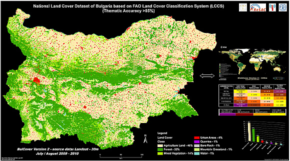 Reference Layer Bulgaria - Land Cover 2009/2010